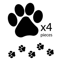 Paws Decal